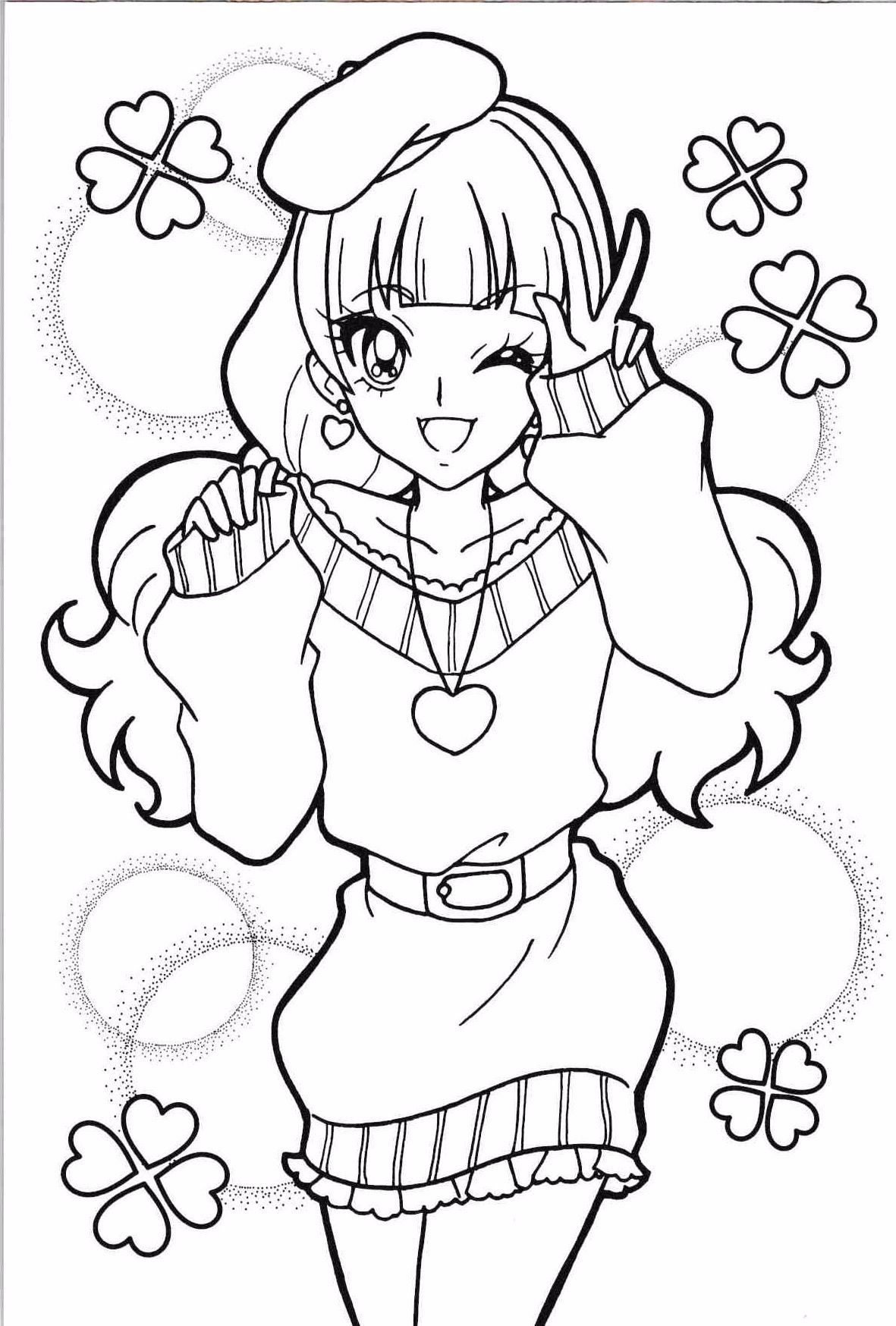 Princess Precure Kirara In 2020 Sailor Moon Coloring Pages Cute Coloring Pages Cool Coloring Pages
