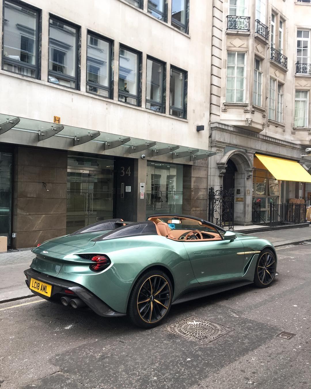 Aston Martin Vanquish Zagato Speedster Aston Martin Pinterest