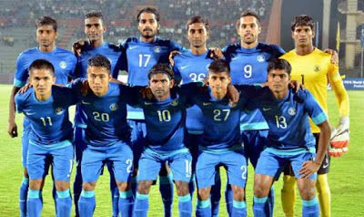 Indian Football Team Breaks Into Top 100 In Fifa Rankings After 21 Years Soccer Highlights Videos Fifa World Football