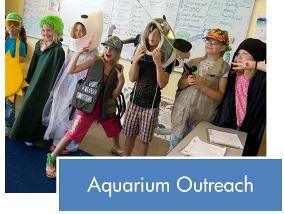Aquarium Outreach Button