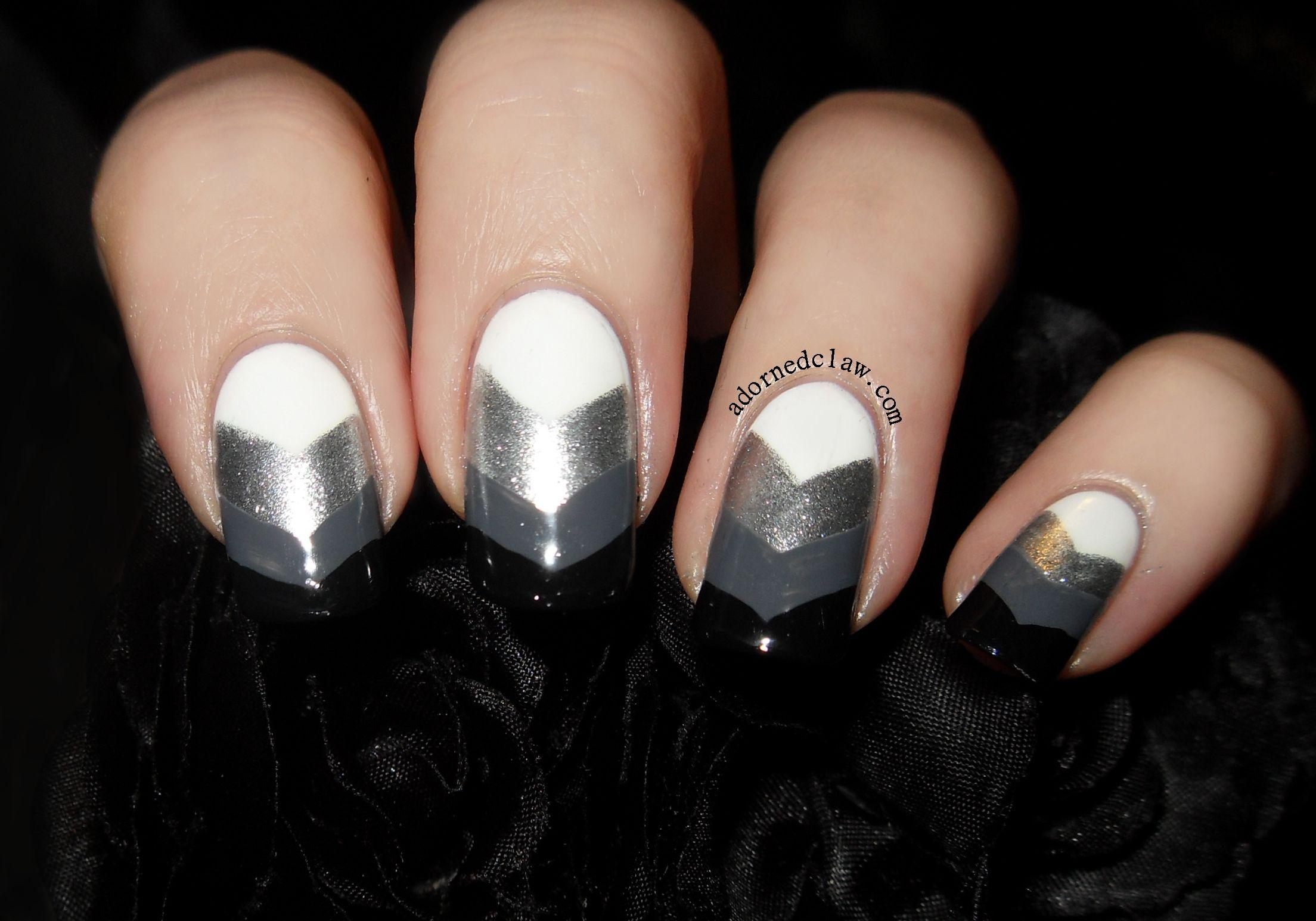 white and silver nail designs - Google Search | Sweet Nail Art ...
