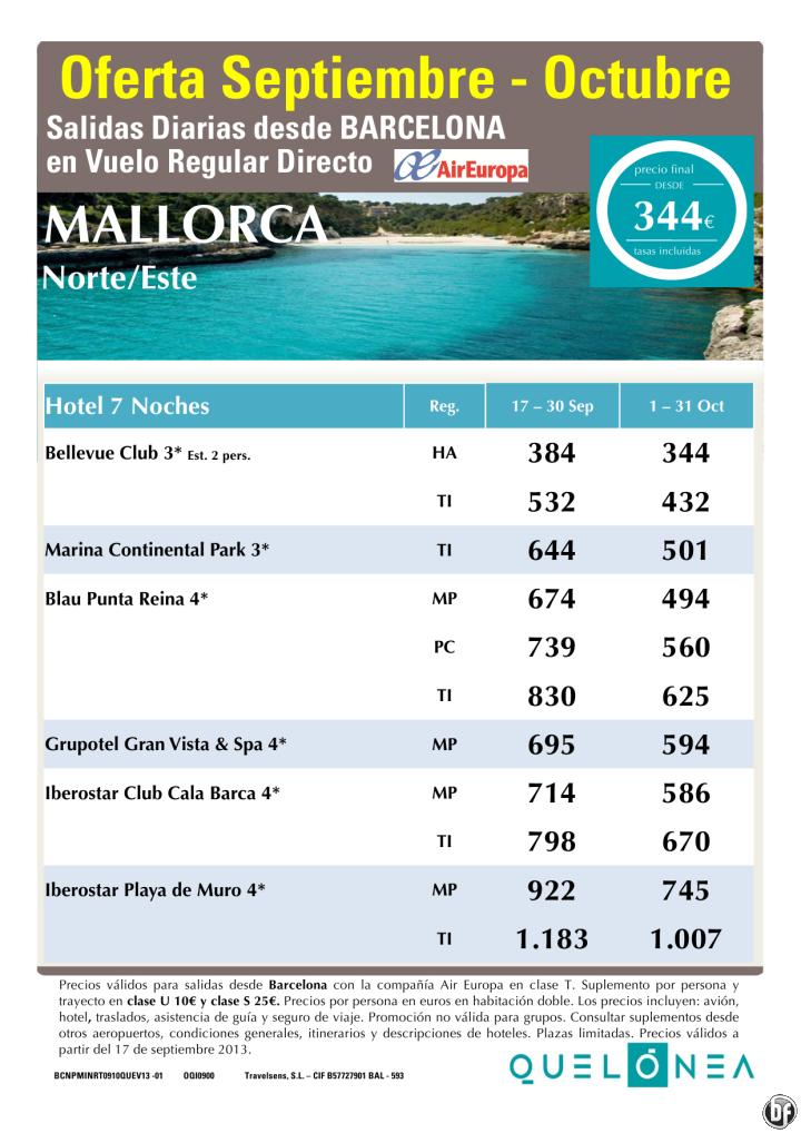 Mallorca - Zona Norte desde 344€ Tax incl.Oferta 7 Noches desde Bcn - http://zocotours.com/mallorca-zona-norte-desde-344e-tax-incl-oferta-7-noches-desde-bcn/