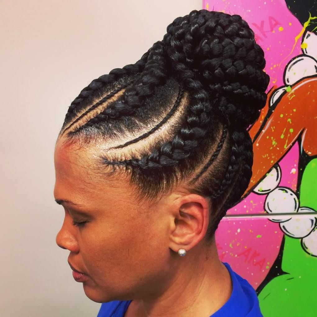 70 best black braided hairstyles that turn heads in 2018   buns and