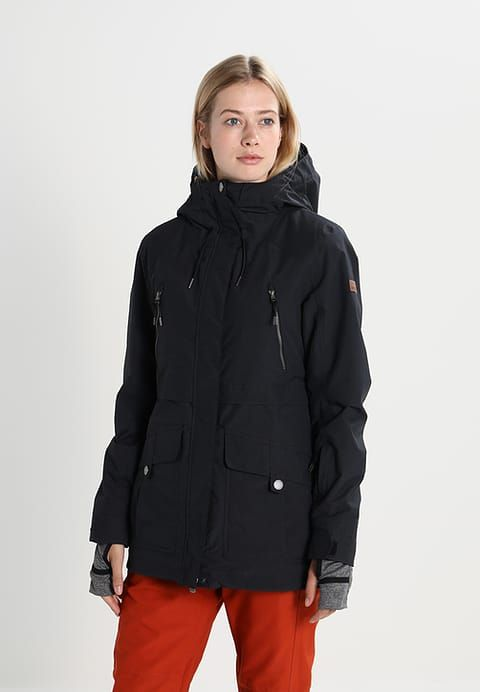 f2d207ede8 Roxy TRIBE - Snowboard jacket - true black for £249.99 (29 11 17) with free  delivery at Zalando