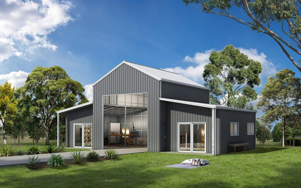 ranbuild has a wide selection of american and australian barns rh pinterest com