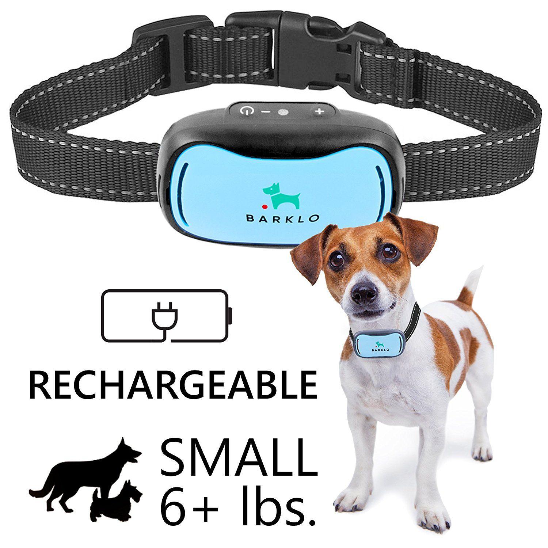 Small Dog Bark Collar For Tiny To Medium Dogs By Barklo