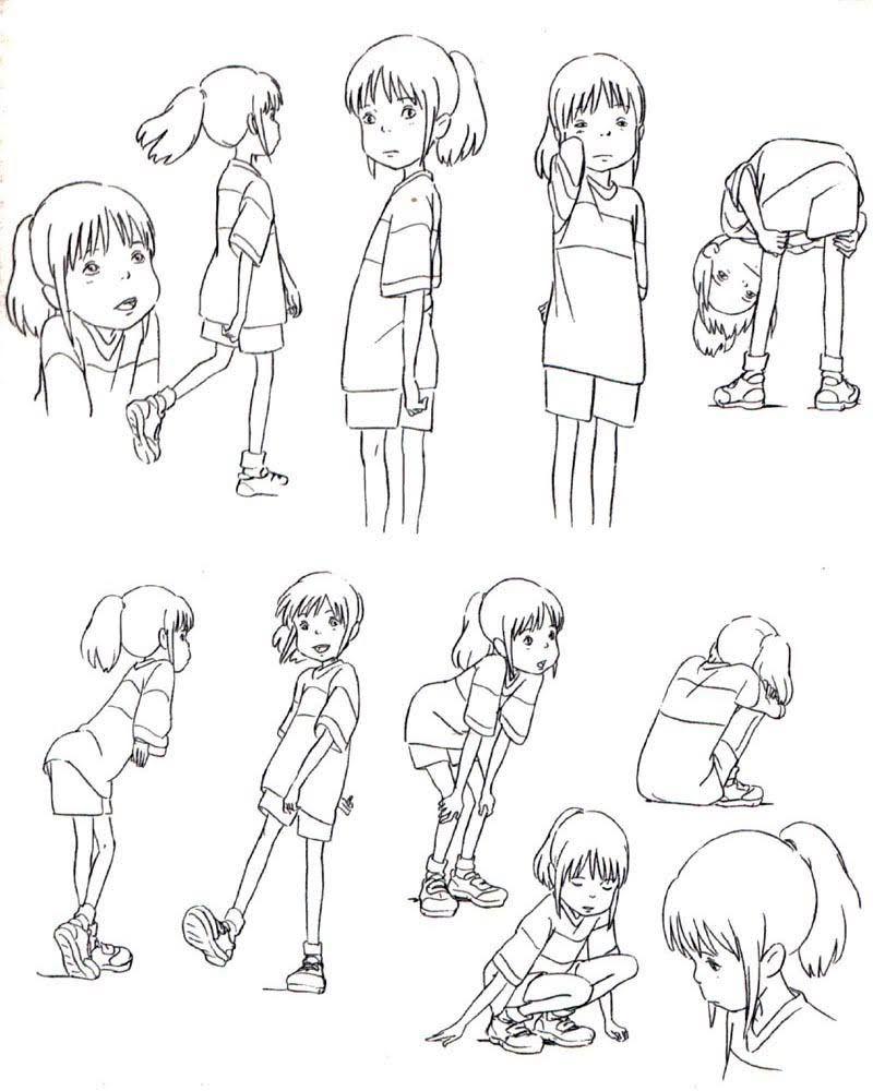 Animation Tidbits — Spirited Away - Chihiro   Kunst   Pinterest ...