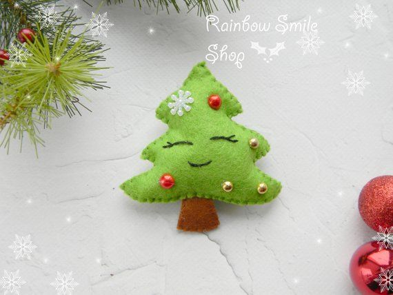 Christmas Ornaments felt Christmas tree ornament decor Christmas