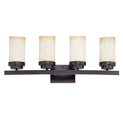 Nuvo 60/2772 Lucern 4-Light Vanity - Vanity Lighting Fixtures - Amazon.com
