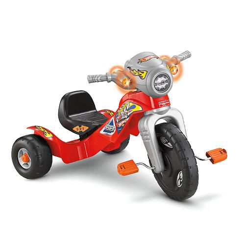 Fisher Price Lights And Sounds Tricycle Hot Wheels