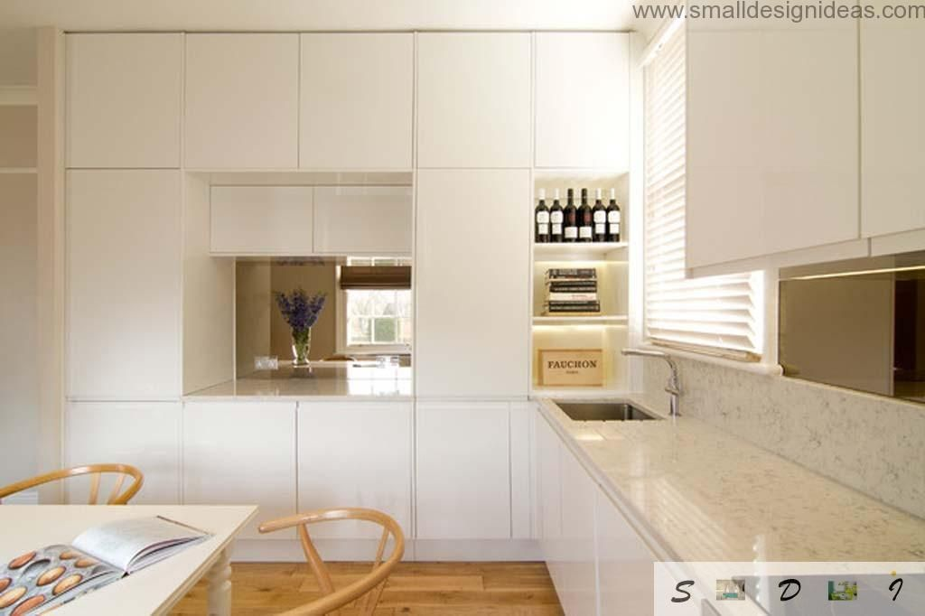 Choose a modern middle and large kitchen