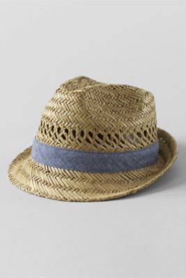 Boys' Straw Hat from Lands' End