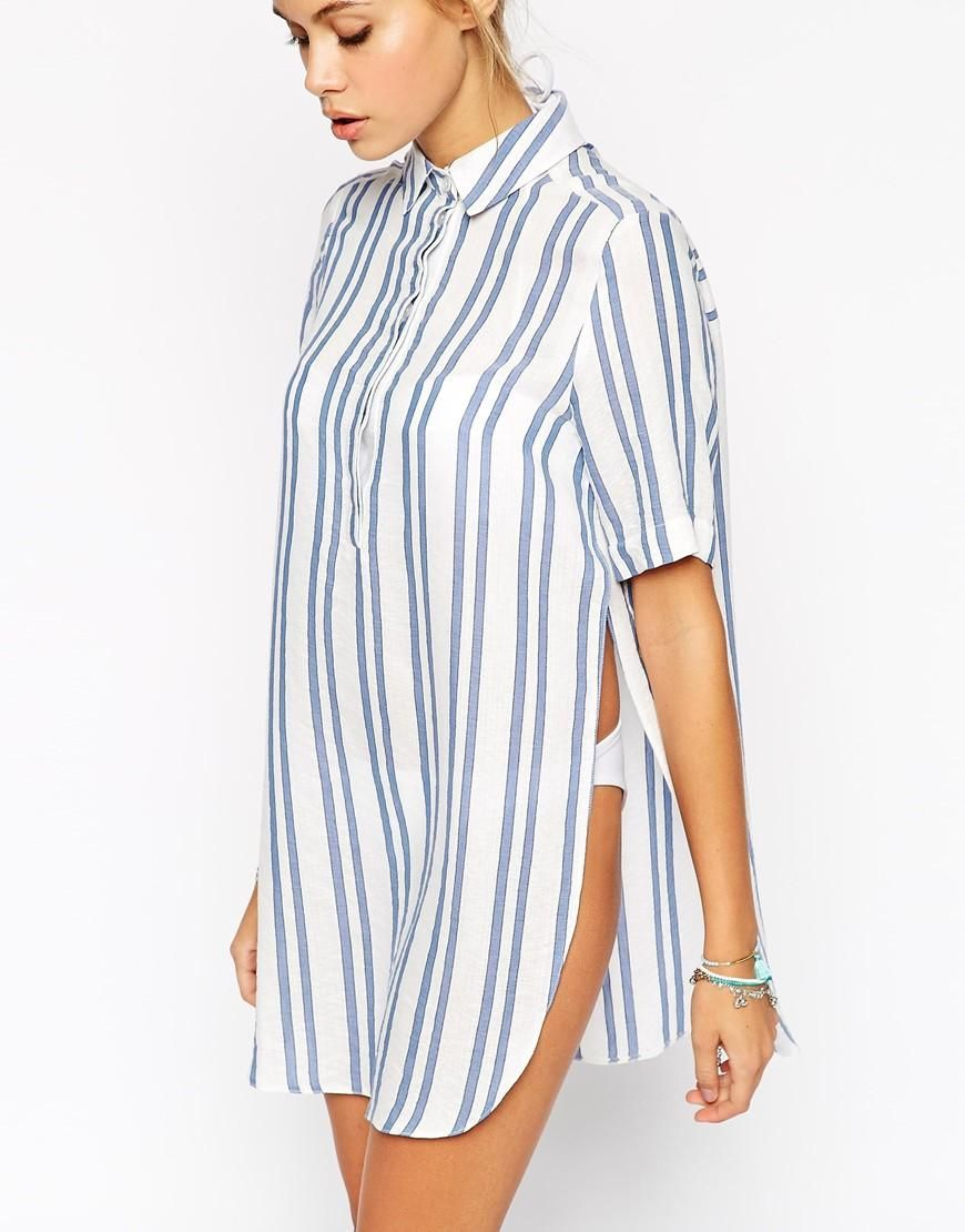 ASOS Stripe Beach Shirt