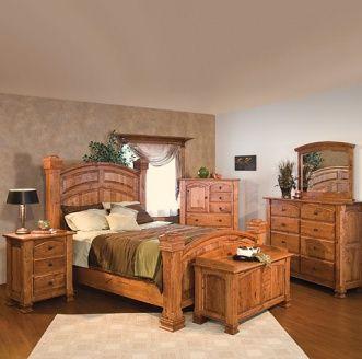 Wyndham Amish Bedroom Furniture Set Rustic Bedroom Furniture Oak Bedroom Furniture Wood Bedroom Furniture Sets