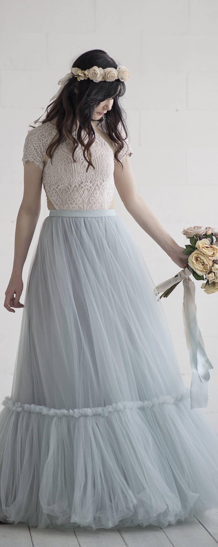 Dolores - bohemian wedding dress / boho wedding gown / southwestern ...