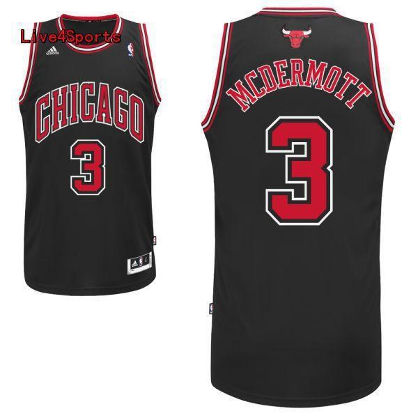 fdf0dd79c ... Doug McDermott jersey Chicago bulls 3 black Knicks 20 Doug McDermott  Blue Name Number Jersey T-Shirt ...