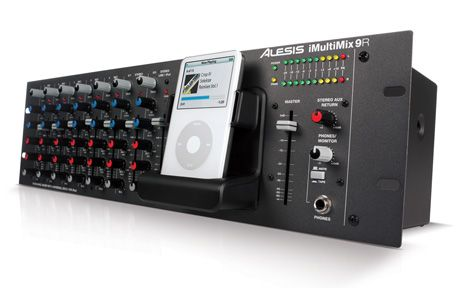 This Sturdy Compact All In One Rack Mounted Mixer With Integrated