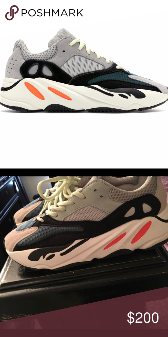 22cc4a00e6b Yeezys wave runner 700 Brand new worn once got them for my birthday I found  another
