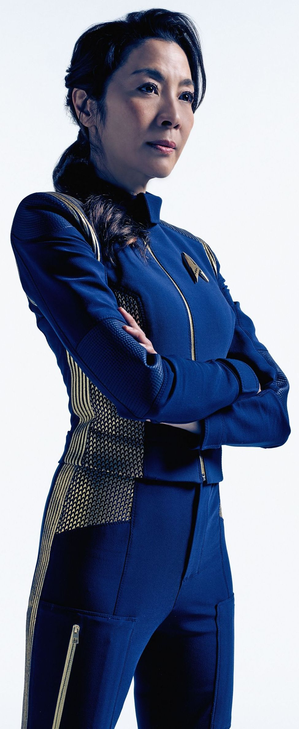 Michelle yeoh as captain philippa star trek