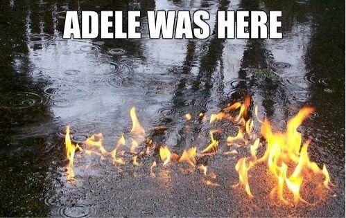 And i set fireeeeeeee to the raiiiiiin