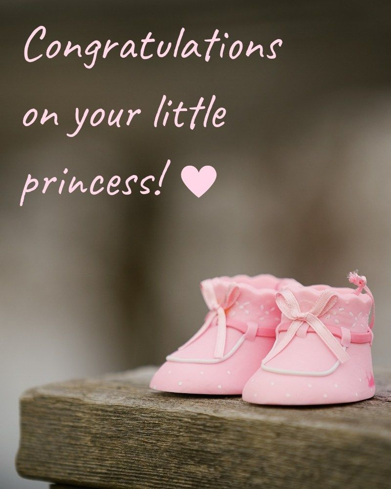 Congratulations On Your Baby Girl What To Write In A Card Greeting Card Ideas Welcome Baby Girl Quotes Congrats Baby Girl Baby Girl Wishes