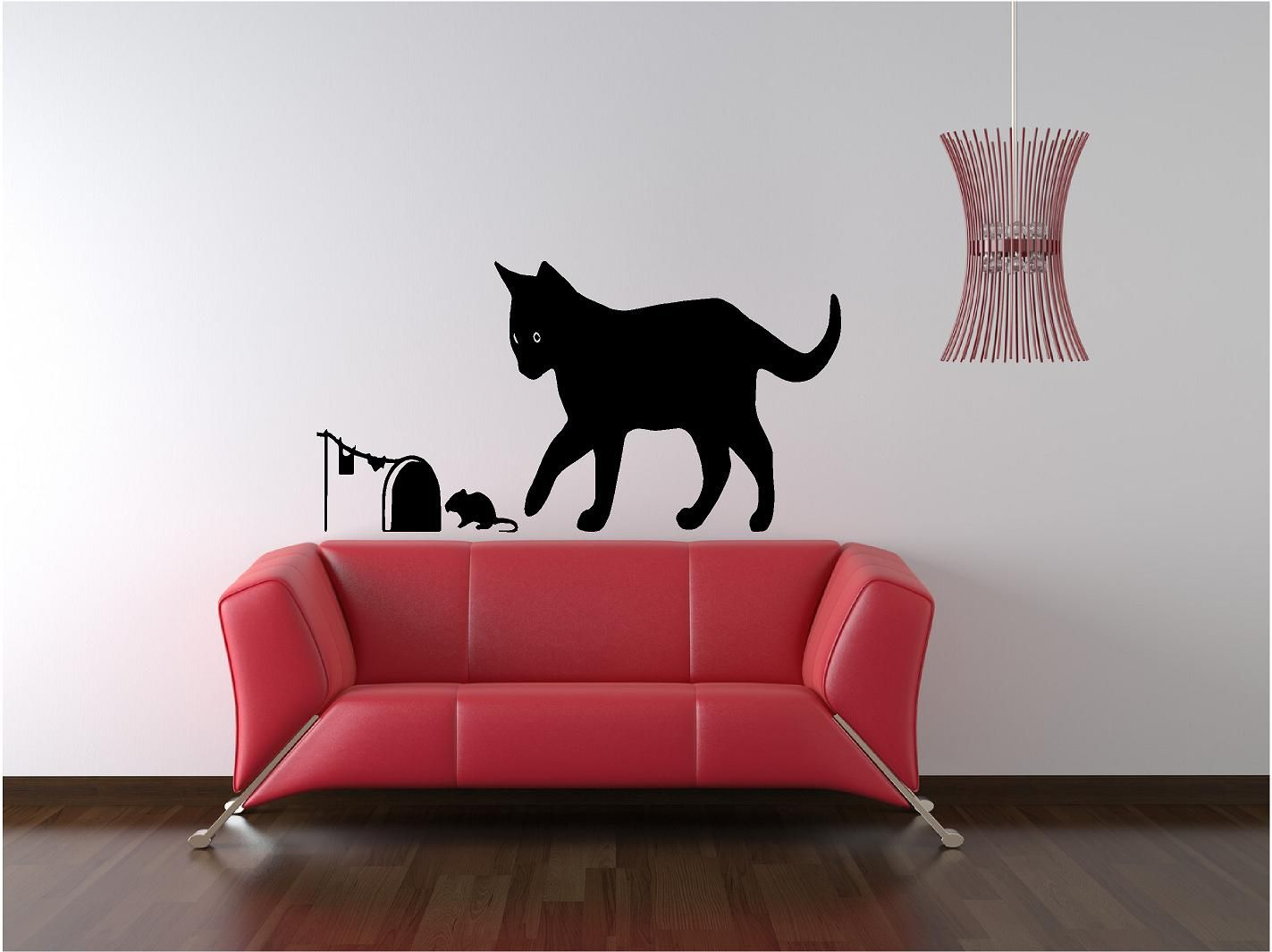 Cat Mouse Our Designs Include Amazing Wall - Custom vinyl wall decals cats