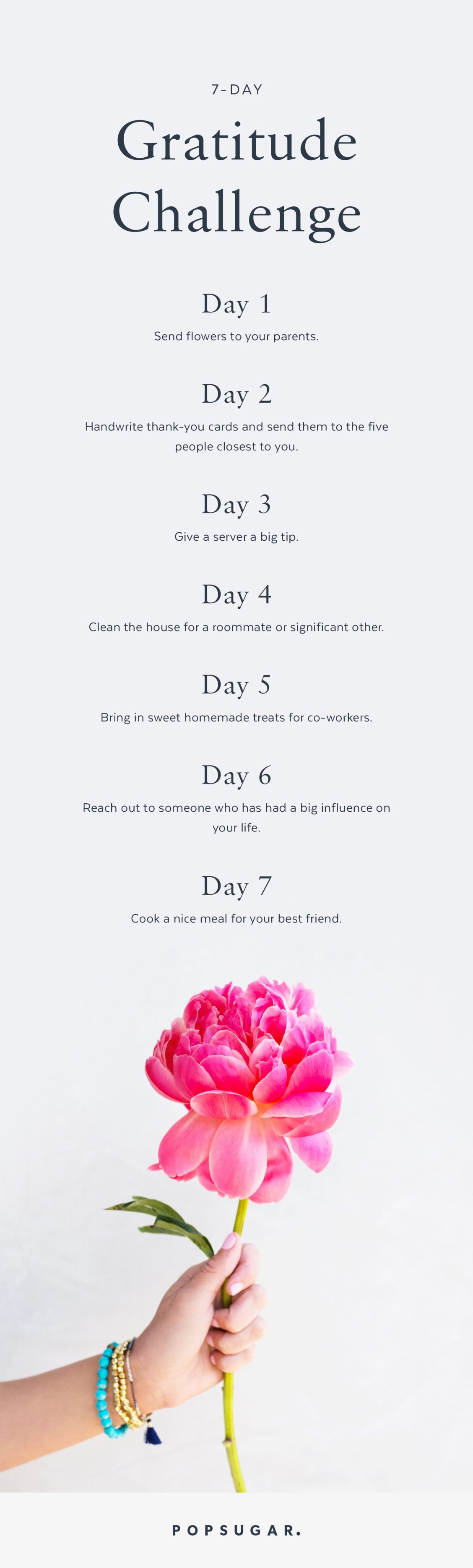 Show Your Appreciation With This 7 Day Gratitude Challenge