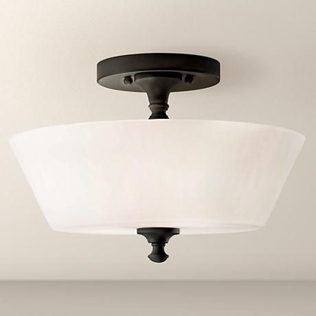 feiss peyton 13 wide ceiling light fixture home decor rh pinterest com