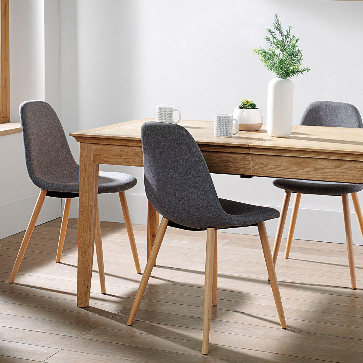 silla de comedor tapizada de madera wendy el corte ingls