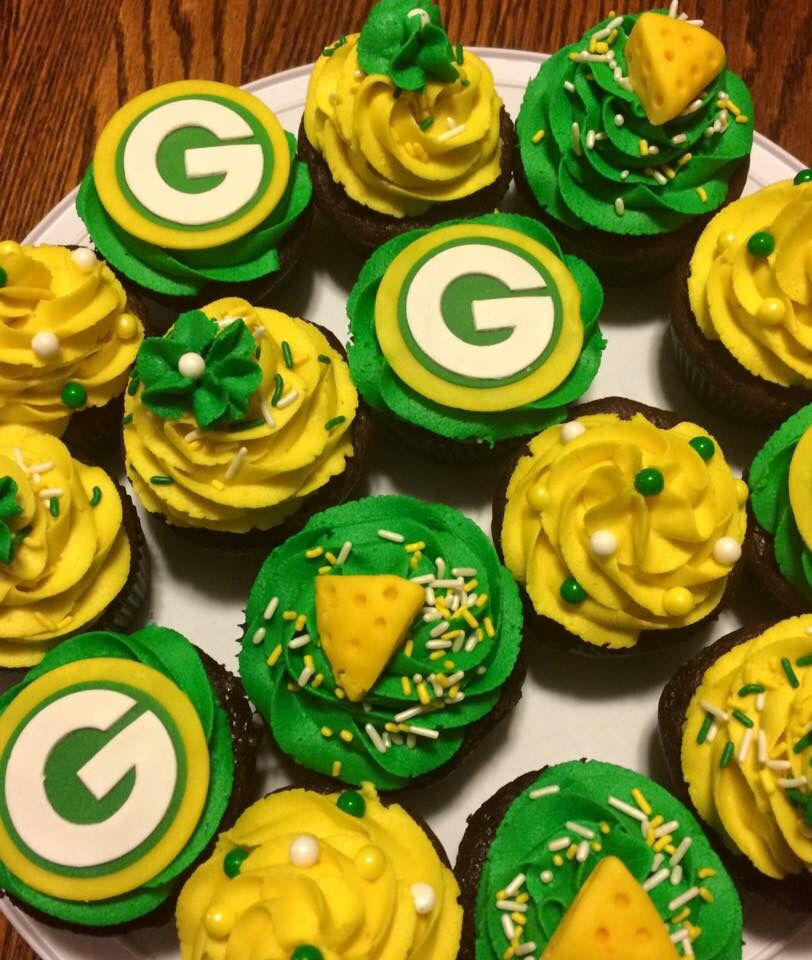 c0c4f9d3d Green Bay Packers Cupcakes