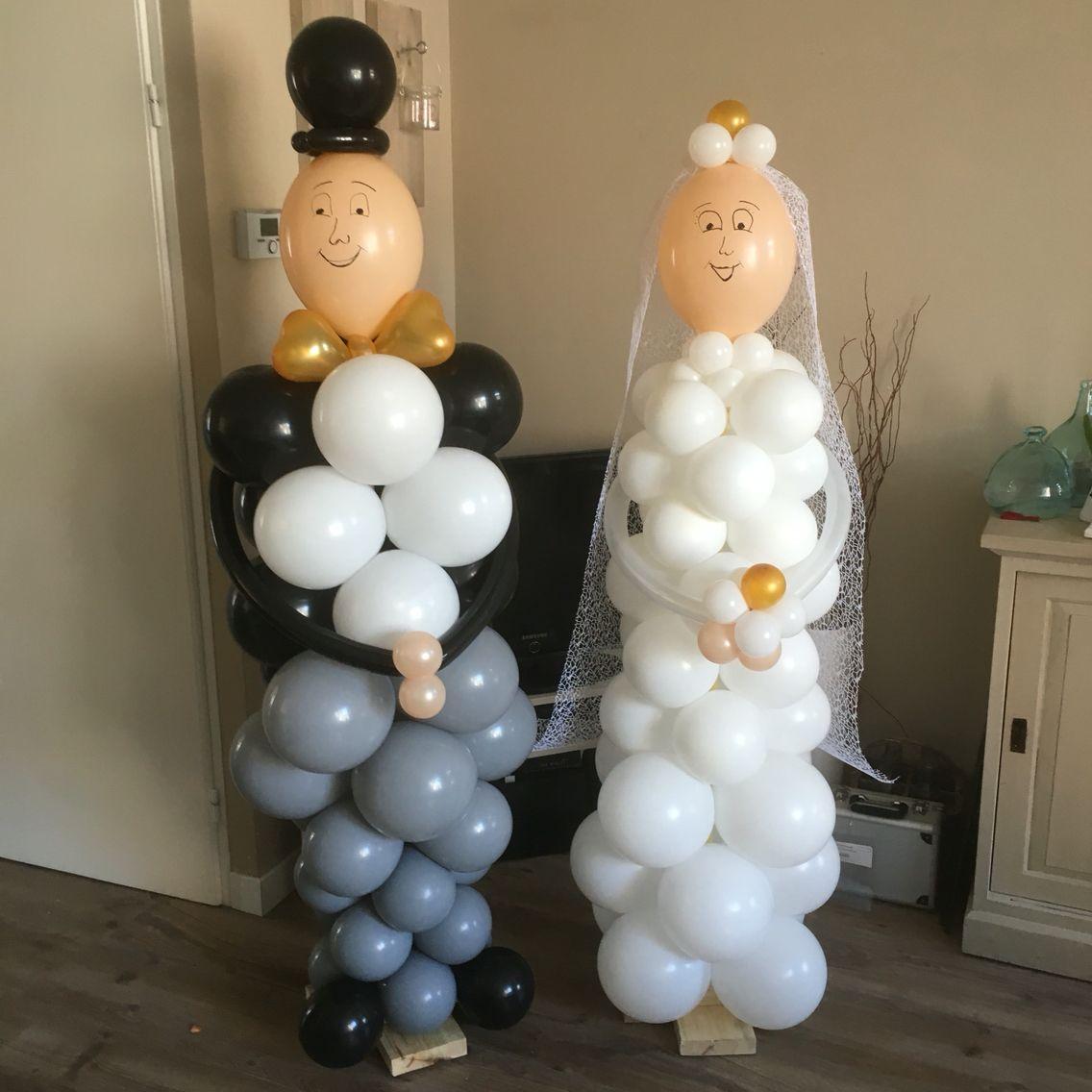 Bruidspaar 50 jaar getrouwd idee n voor het huis for Ballonnen versiering zelf maken