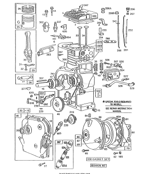 find replacement repair parts for briggs stratton engines rh pinterest co uk