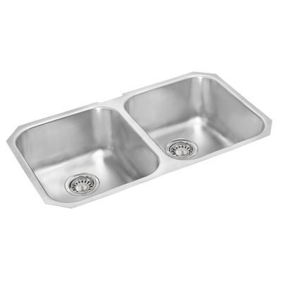 WESSAN - Double Bowl Undermount Sink - 31 In. x 18 In. x 7 In ...