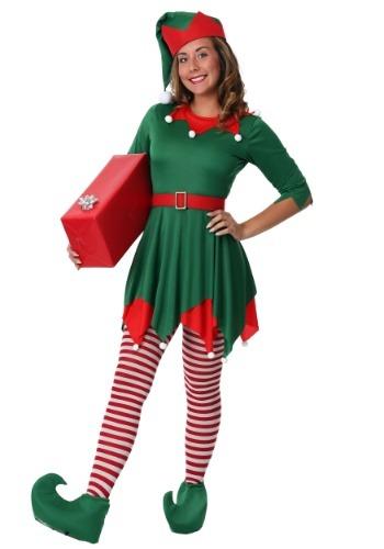 Women's Plus Size Santa's Helper Costume Santa's helper