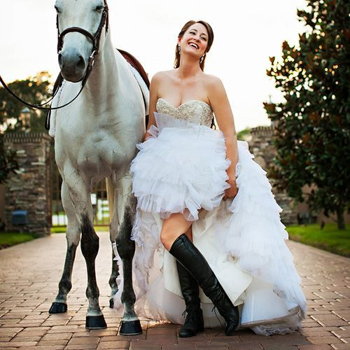 the bride looked radiant and donned tall black riding boots while Wedding Riding Boots the bride looked radiant and donned tall black riding boots while posed beside her beautiful friend wedding reading book of ruth