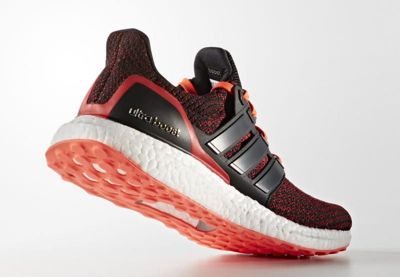 adidas Ultra Boost Red Gradient Sneaker Bar Detroit