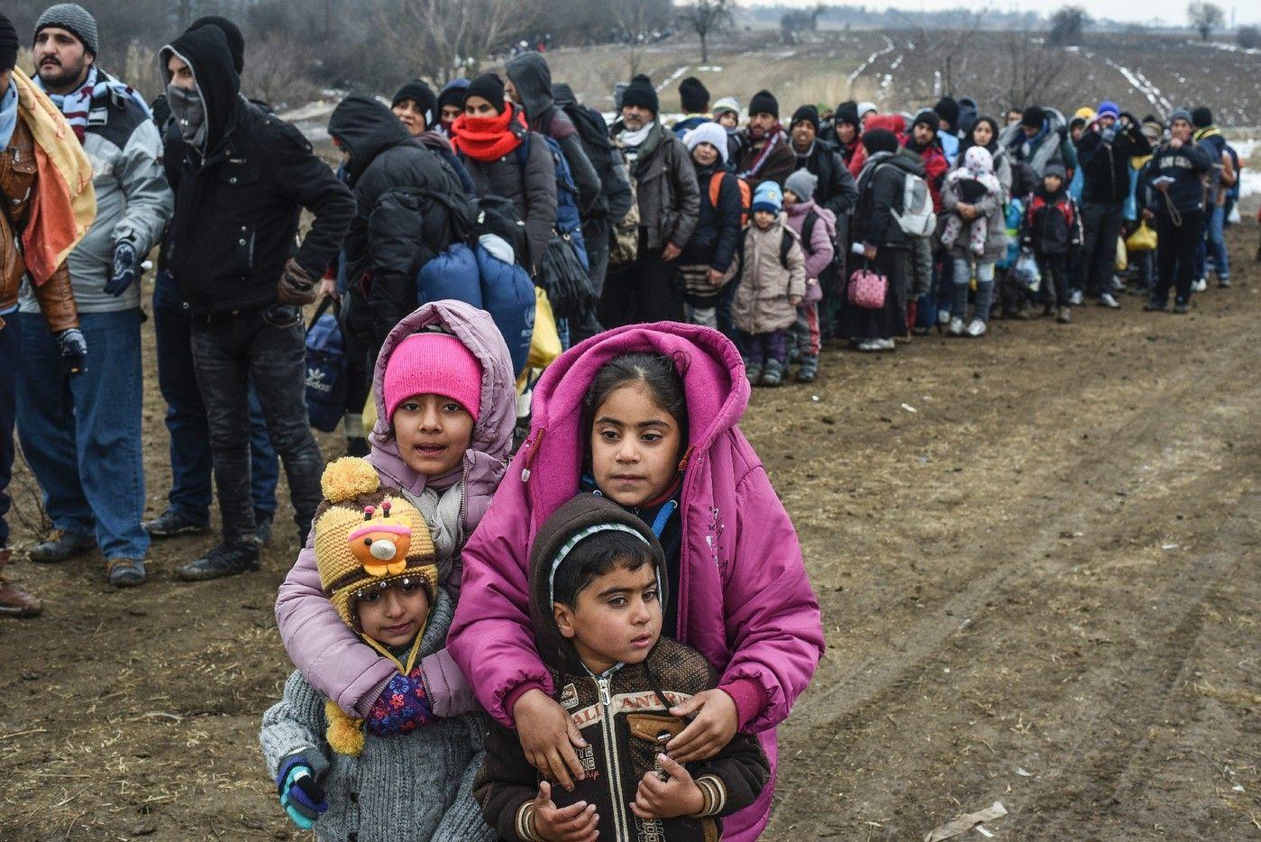 Plus de 10.000 enfants migrants portés disparus, selon Europol - La ...