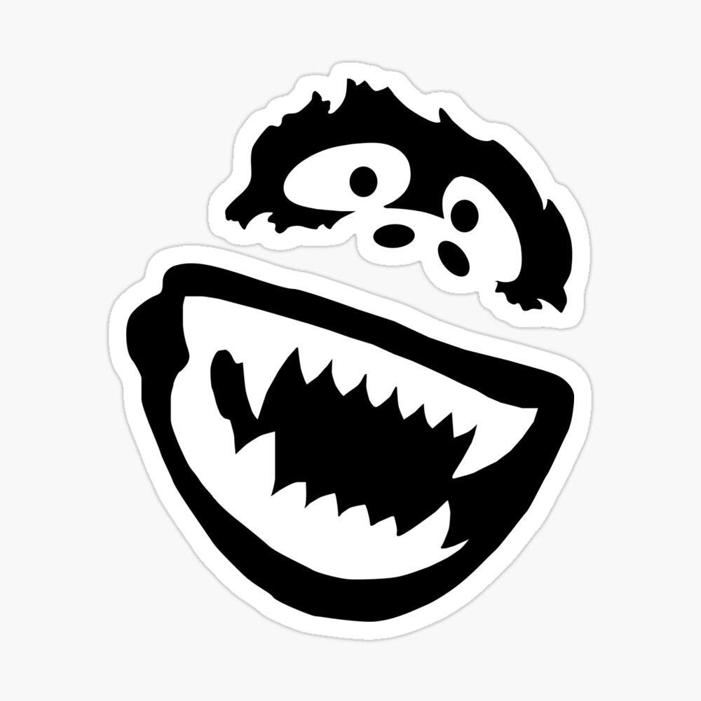 Yeti Sasquatch Yak Face Sticker By Sign Impact In 2021 Vinyl Decals Abominable Snowman Yeti Stickers