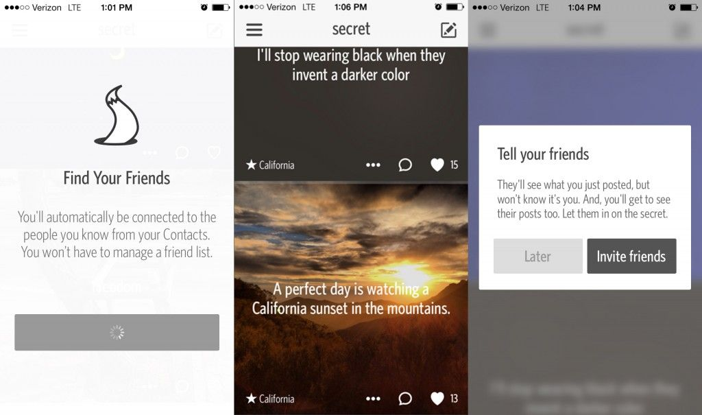 'Secret' This App Let's You Social Network Anonymously