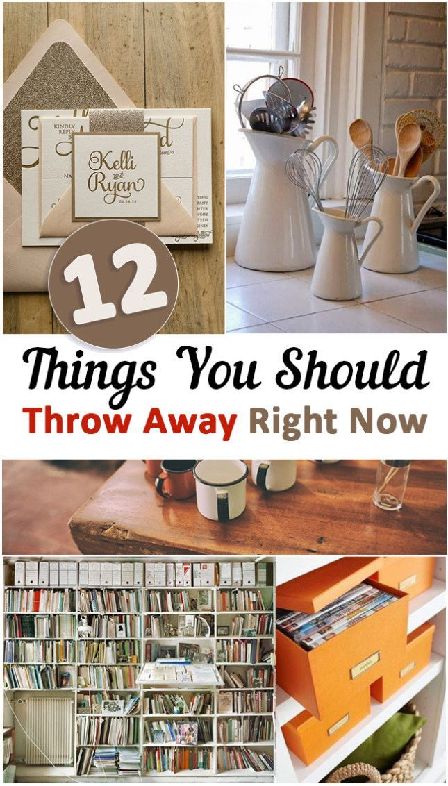 12 Things You Should Throw Away Right Now Cleaning Hacks