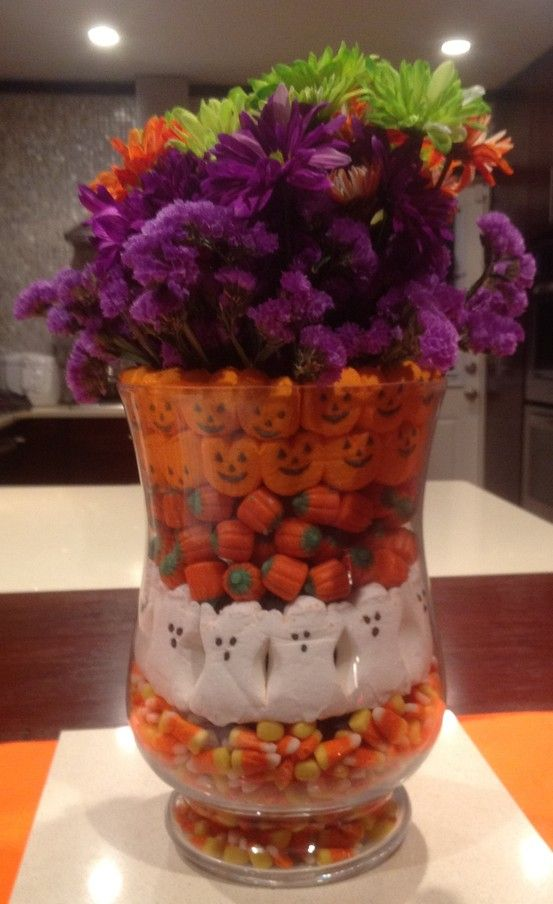My Halloween Centerpiece ! I love this idea halloween Pinterest - halloween centerpiece