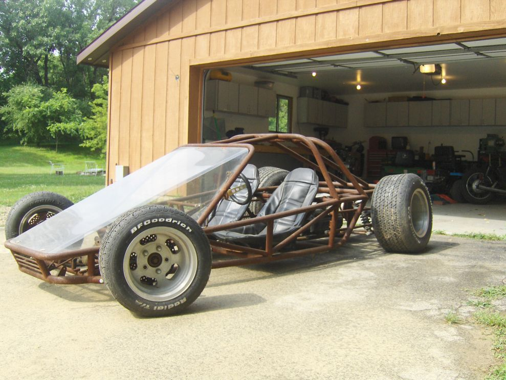 Race Car Tube Chassis Home Build BAD ASS - Great Lakes 4x4. The ...