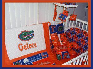 florida gators baby bedding nursery crib college football | Baby ...