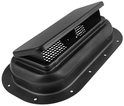 Replacement Exterior Pop Up Roof Vent Steel 13 1 2 X 8 Black Redline Rv Vents And Fans 9106 Roof Vents Enclosed Trailers Vented