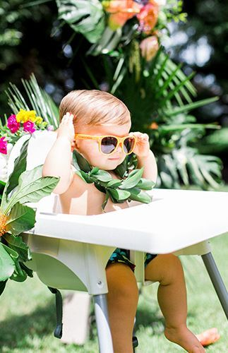 Colorful Cabana First Birthday Party - Inspired By This