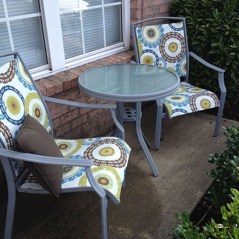 Redo Patio Sling Chairs Under 25 Diy