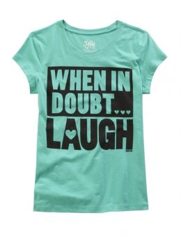 Laugh Graphic Tee hi hi