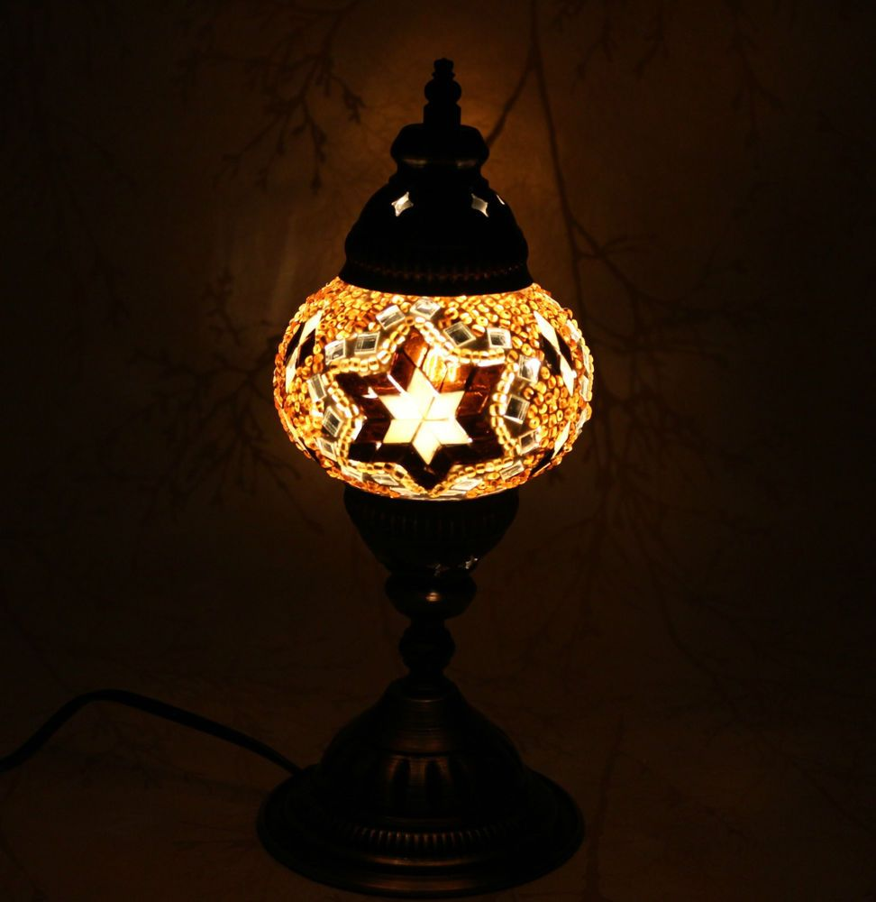 Multicolour Turkish Moroccan Style Mosaic Table Lamp Lampshade Hand Craft Mu101 Moroccan Table Lamp Table Lamp Mosaic Lamp