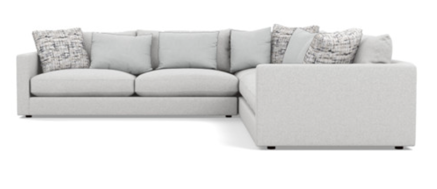 St 01 Harbour Sectional In 2020 Sectional Toss Cushions Furniture Making