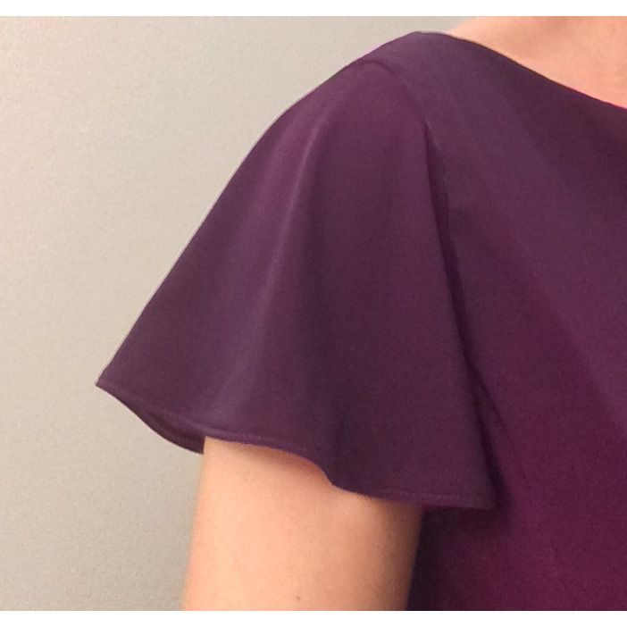 Flutter sleeves are flattering for a number of body types.